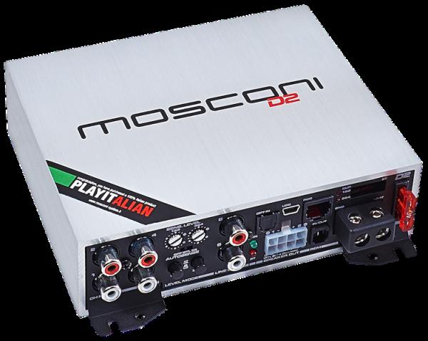 Mosconi D2 100.4 DSP 4-Kanal-Verstärker