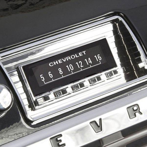 RETROSOUND bedruckte Displayschutzfolie Chevrolet