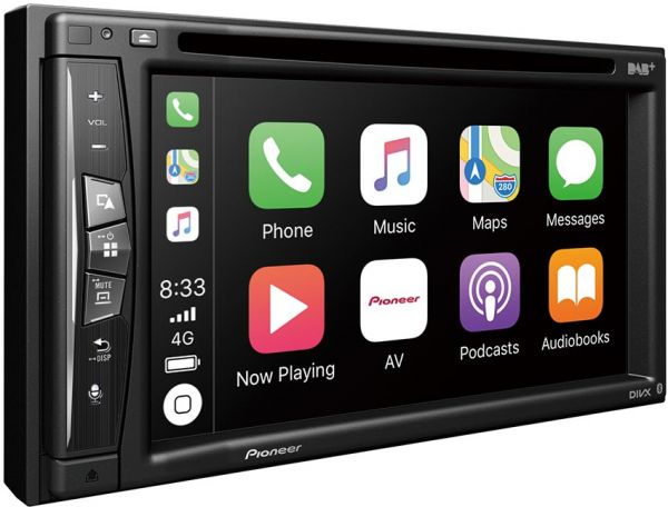 Pioneer AVH-Z720DAB Wi-Fi Android Auto Carplay Mirroring DAB+