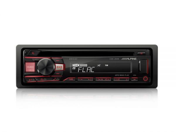 Alpine CDE-201R CD/USB RECEIVER