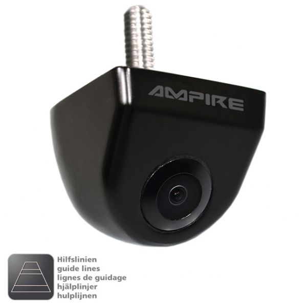 AMPIRE KCN-802 Farb-Rückfahrkamera, Unterbau