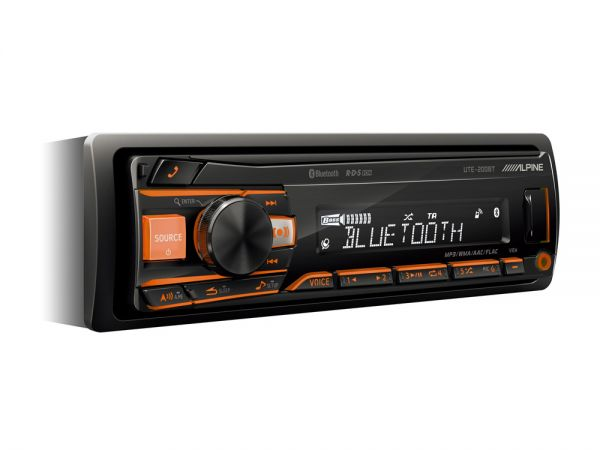 Alpine UTE-200BT DIGITAL MEDIA RECEIVER MIT BLUETOOTH