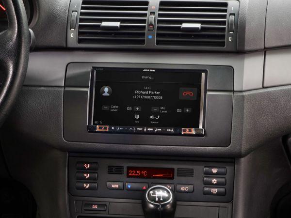 Alpine iLX-702E467-Zoll Premium-Mobile-Media-System für 3er BMW (E46)