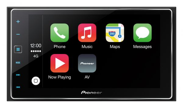 Pioneer SPH-DA120 Autoradio mit Apple Carplay