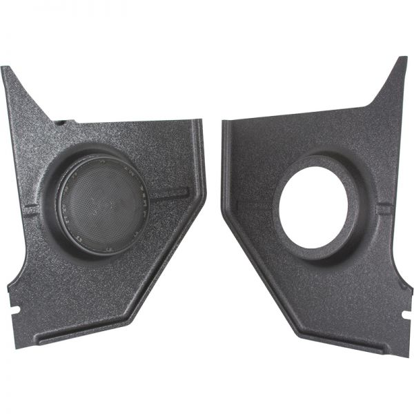 RETROSOUND Kickpanels für FORD Mustang 1964-66, schwarz