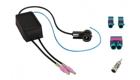 RTA Antennendiversity + Phantomeinspeisung für Fahrzeuge mit 2 FM Antennen