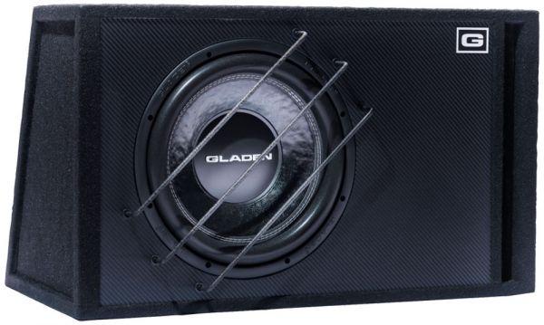 Gladen SQX 12 VB Bassreflex 600 Watt RMS / Carbondesign