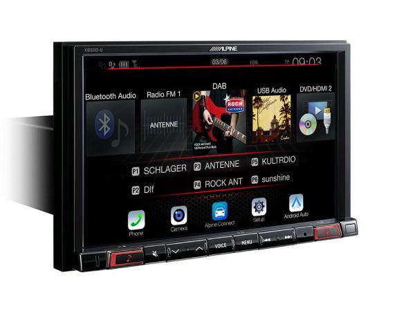 Alpine X802D-UA mit Android Auto