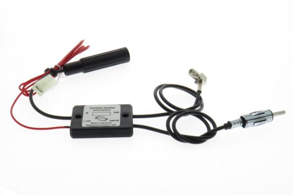 Antennensignal-Verteiler (Antennensplitter) passiv FM/DAB+