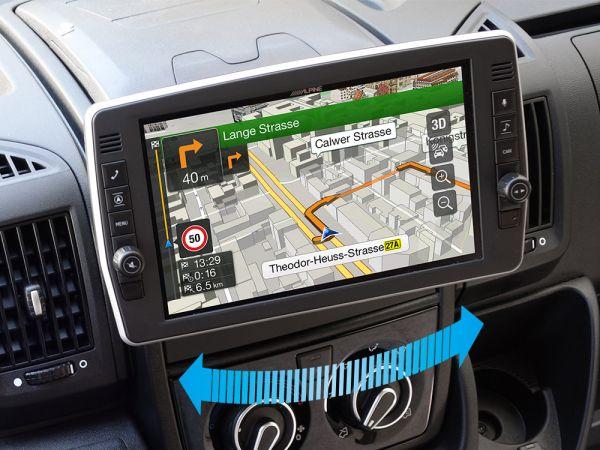 "Alpine X903D-DU2 Ducato 9"" Navigationssystem mit schwenkbarem Display"