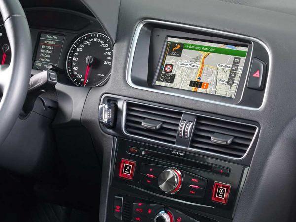 Alpine Style X701D-Q5 für Audi A5 - Advanced Navi Station