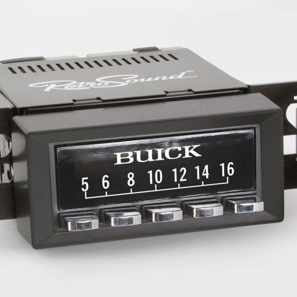 """RETROSOUND bedruckte Displayschutzfolie, """"Buick"""" 3er Set"""