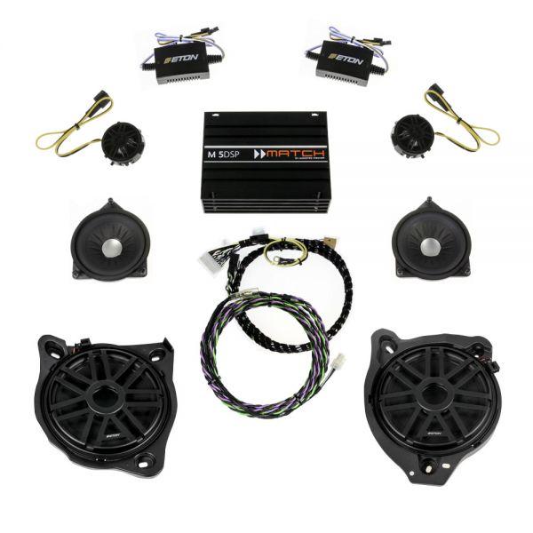Match DSP Verstärker + ETON Lautsprecherupgrade für Mercedes Benz