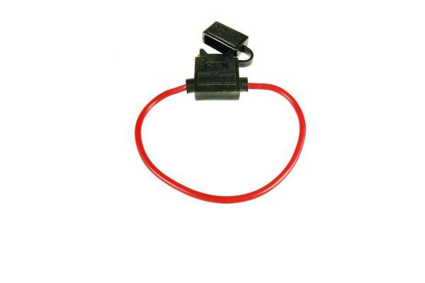 Kabel-Sicherungshalter für KFZ-Flachsicherungen bis 40A (ATC)