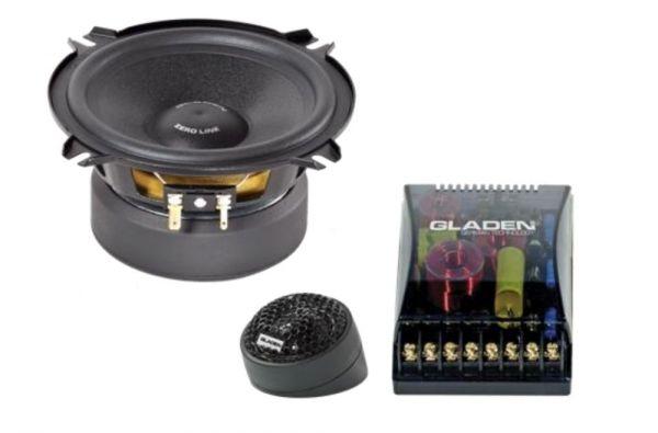 Gladen Audio Zero 100 100mm 2-Wege Autolausprechersystem