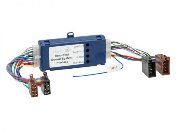 Aktivsystemadapter 4 Kanal > ISO auf ISO Nissan, Mazda, Mercedes, Saab