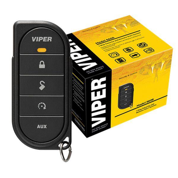 Viper Alarmsystem 3606V mit einer Fernbedienung, erweiterungsfähig