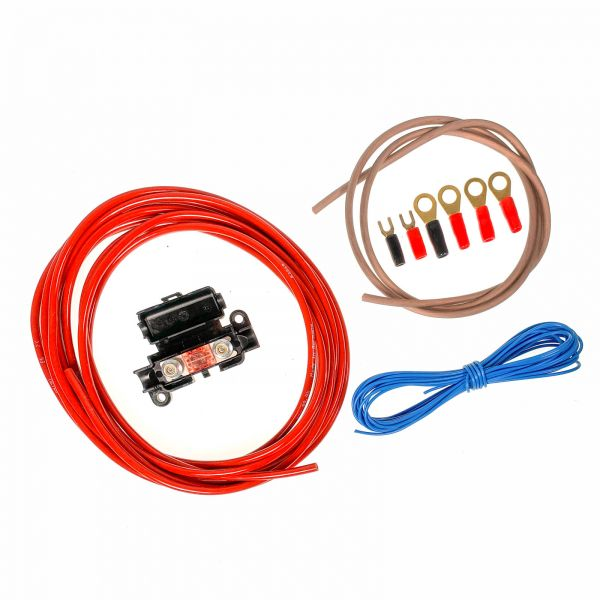 ARS - Car-Hifi Verstärker Kabel-Anschlusskit 6mm² für bis zu 150 Watt / 20A