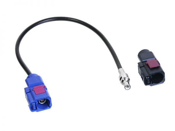 Antennenadapter Fakra - Fakra (f) - SMB (m)