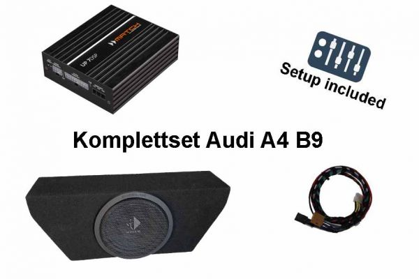 Soundupgrade-Plug&Play-Set für Audi A4 B9 mit Audi Soundsystem (ASS)
