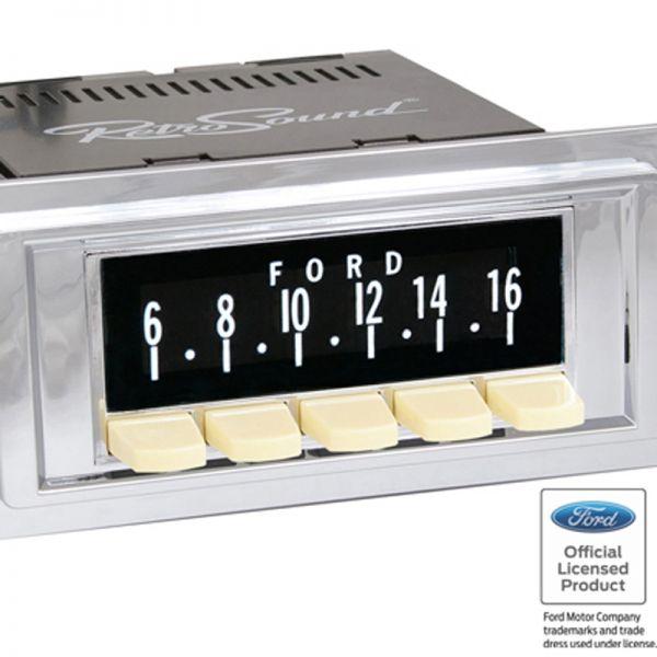 """RETROSOUND bedruckte Displayschutzfolie, """"Ford"""" 3er Set"""