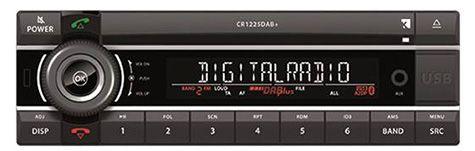 Kienzle CR-1225DAB  Radiogerät mit CD/USB/AUX/Bluetooth/DAB+