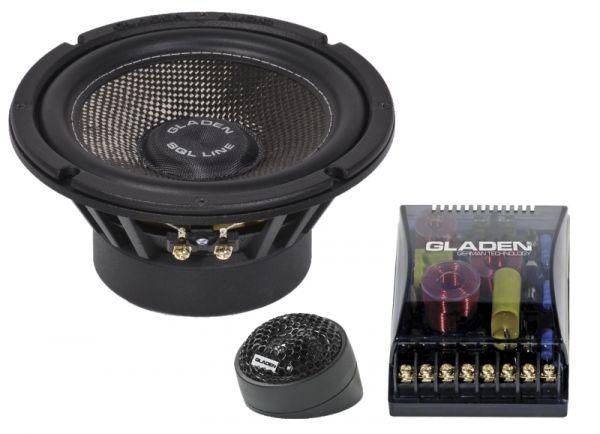 Gladen SQL 165 16,5 cm Sound Quality Level Komponentensystem