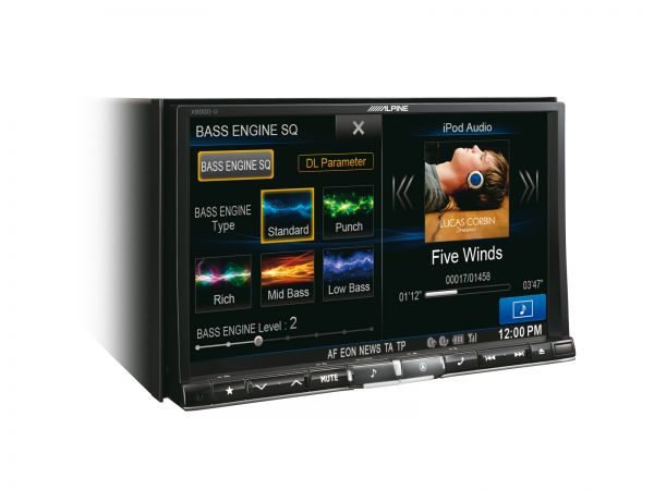 Alpine X800D-U - Advanced Navi Station