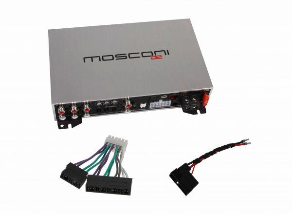 Mosconi D2 80.6 DSP 6-Kanal-Verstärker für Porsche 928