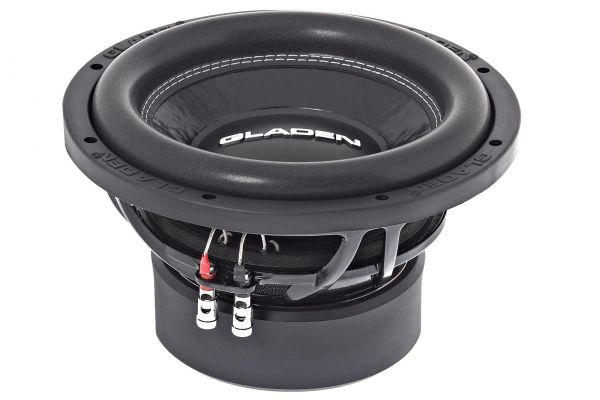 "Gladen SQX 10 High-Performance 10"" / 25cm Subwoofer 350 Watt RMS"