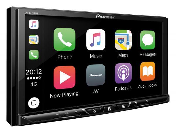 Pioneer SPH-DA230DAB 2DIN Autoradio Carplay & Android Auto DAB+