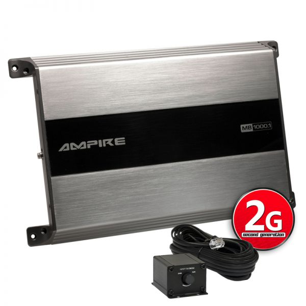 Ampire MB 1000.1-2G Monoblock
