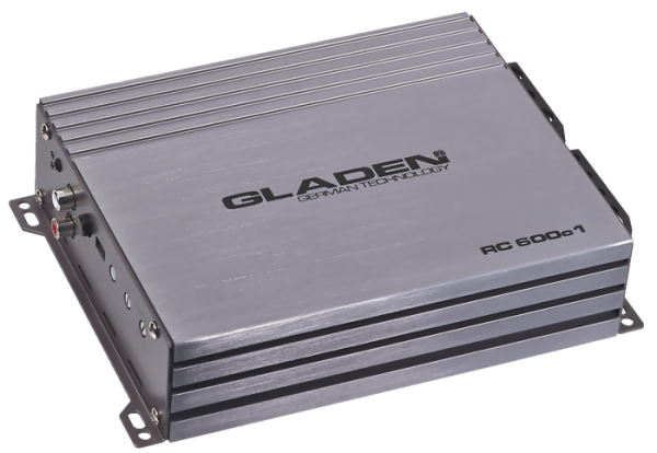 Gladen RC 600c1 Monoblock Verstärker Watt RMS 560 @2 Ohm
