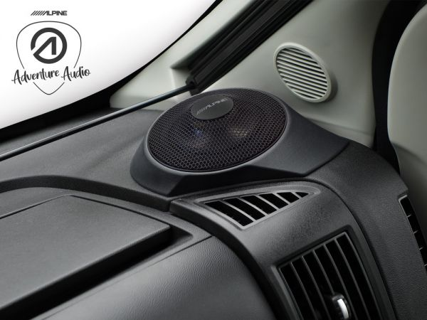 Alpine SPC-R100-DU Soundupgrade für Fiat Ducato